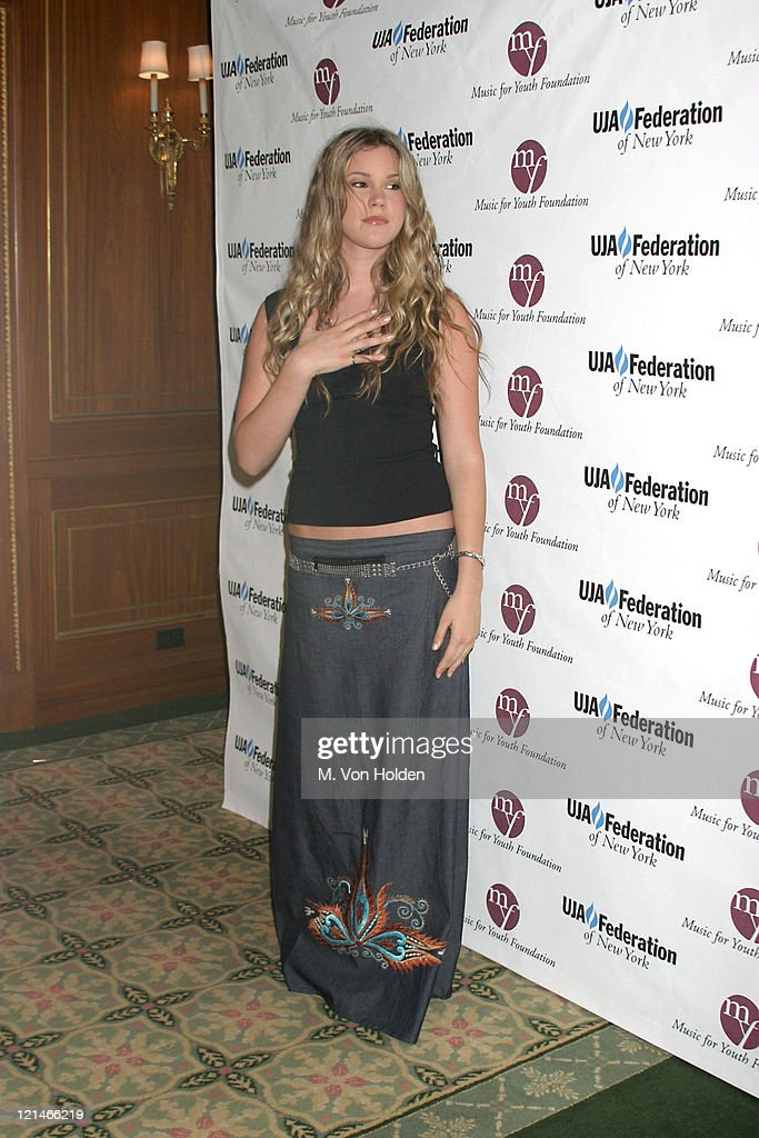 Joss Stone during UJA Federation of NY/Music for Youth Foundation fundraiser at Pierre Ballroom in New York, New York, United States.