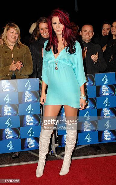 Joss Stone during UK Music Hall Of Fame 2006 Arrivals at Alexandra Palace in London Great Britain