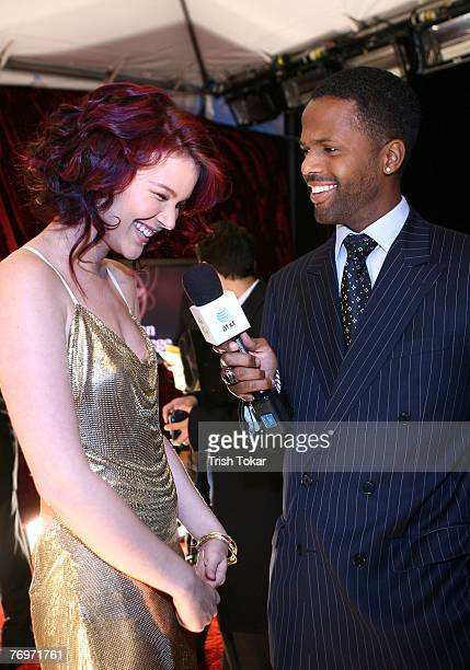 Joss Stone is interviewed by AJ Calloway the 29th Annual Evening of Stars honoring Smokey Robinson presented by the United Negro College Fund at the...