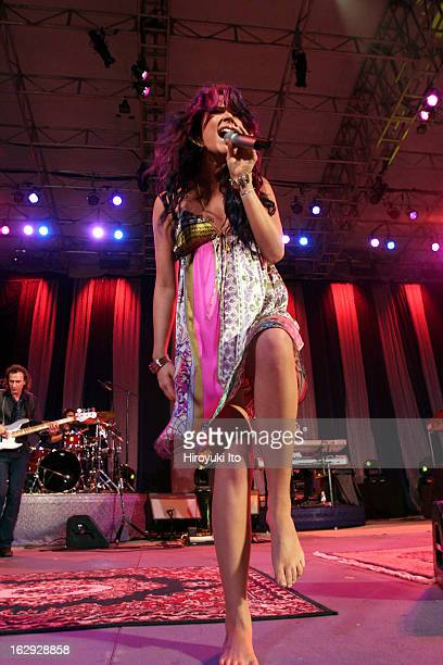 Joss Stone performing at Central Park Summerstage on Friday night June 8 2007