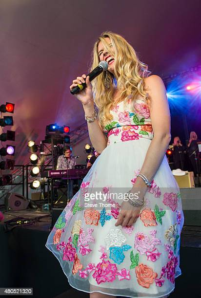 Joss Stone performs at Cornbury Festival at Great Tew Estate on July 12 2015 in Oxford United Kingdom