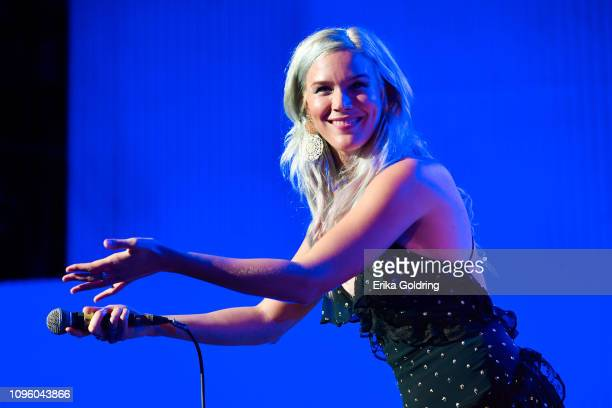 Joss Stone performs during the 34th International Jazz Plaza Festival at Teatro Nacional on January 17 2019 in Havana Cuba