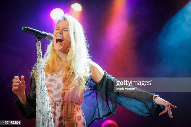 Joss Stone performs on Day 5 of the Ottawa Folk Festival on September 14 2014 in Ottawa Canada