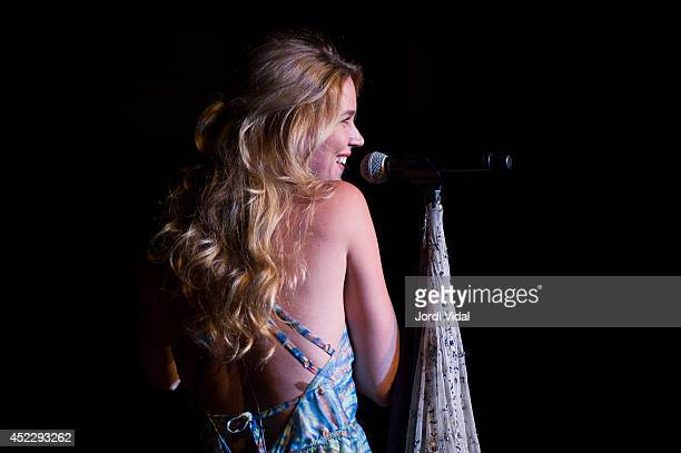 Joss Stone performs on stage at Bikini on July 17 2014 in Barcelona Spain