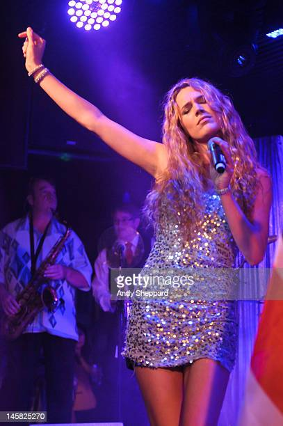 Joss Stone performs on stage at Under The Bridge on June 6 2012 in London United Kingdom