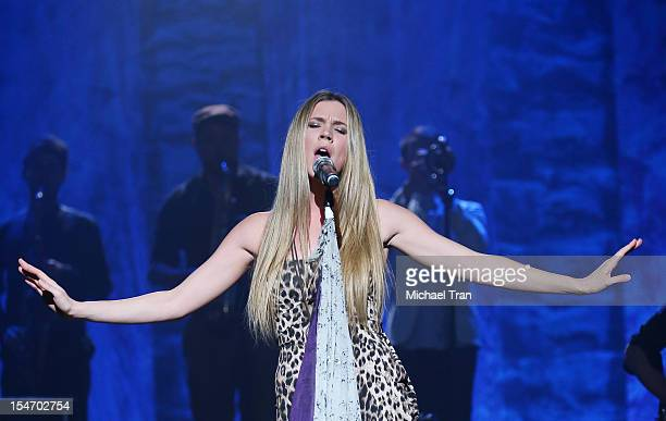 Joss Stone performs onstage during The Soul Sessions 2 Tour held at The Wiltern on October 24 2012 in Los Angeles California