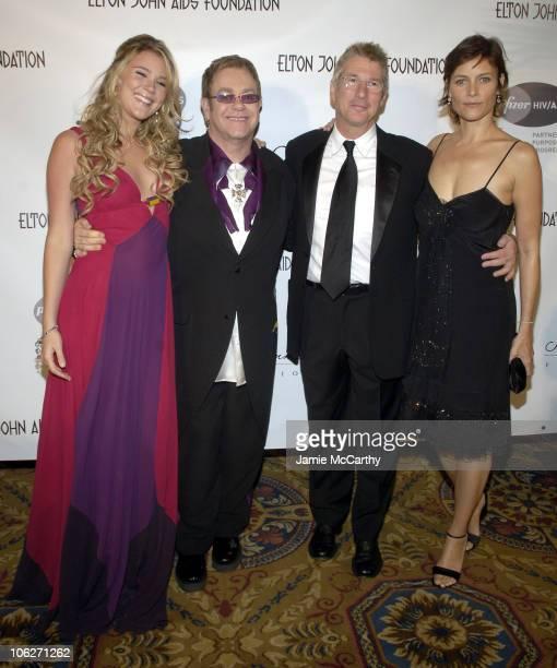 Joss Stone Sir Elton John Richard Gere and Carey Lowell