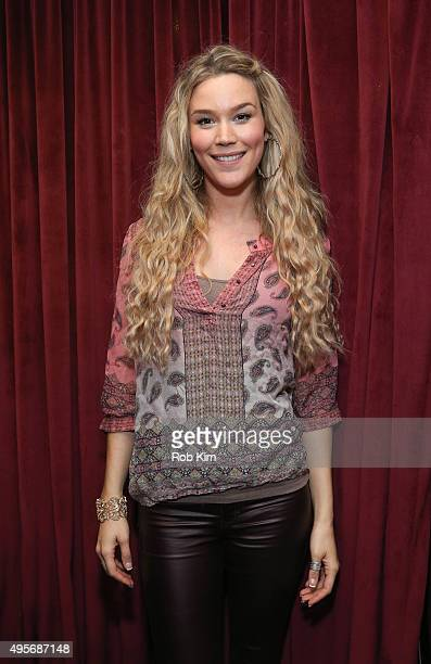Joss Stone visits SiriusXM Studios on November 4 2015 in New York City