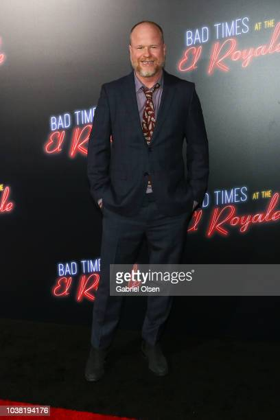 Joss Whedon arrives to the premiere of 20th Century FOX's 'Bad Times At The El Royale' at TCL Chinese Theatre on September 22 2018 in Hollywood...
