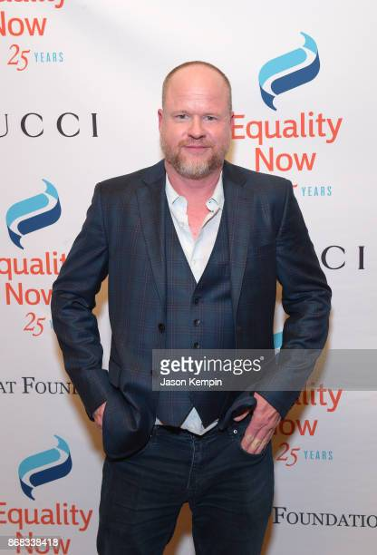Joss Whedon attends as Equality Now celebrates 25th Anniversary at Make Equality Reality Gala at Gotham Hall on October 30 2017 in New York City