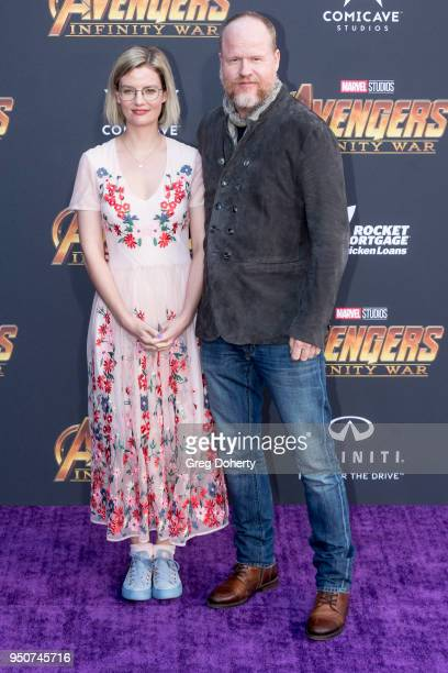 Joss Whedon attends the Avengers Infinity War World Premiere on April 23 2018 in Los Angeles California