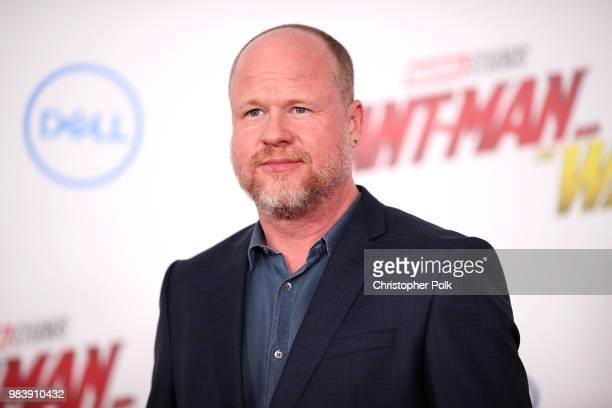 Joss Whedon attends the premiere of Disney And Marvel's AntMan And The Wasp on June 25 2018 in Los Angeles California