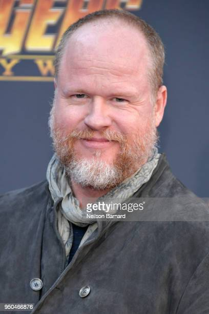 Joss Whedon attends the premiere of Disney and Marvel's 'Avengers Infinity War' on April 23 2018 in Los Angeles California