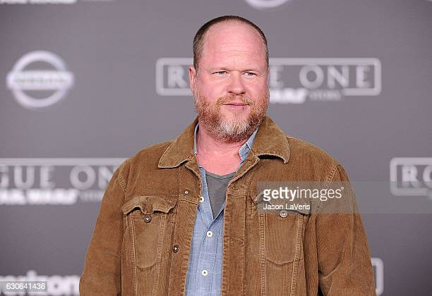 Joss Whedon attends the premiere of Rogue One A Star Wars Story at the Pantages Theatre on December 10 2016 in Hollywood California