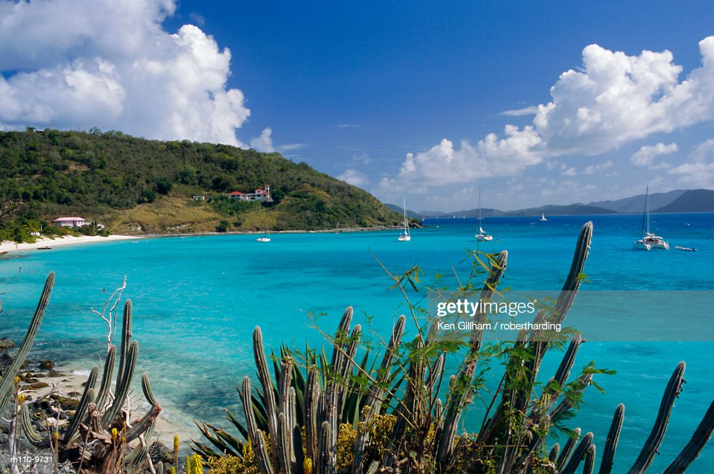 Jost Van Dyke island, British Virgin Islands, Caribbean, West Indies, Central America : Foto de stock