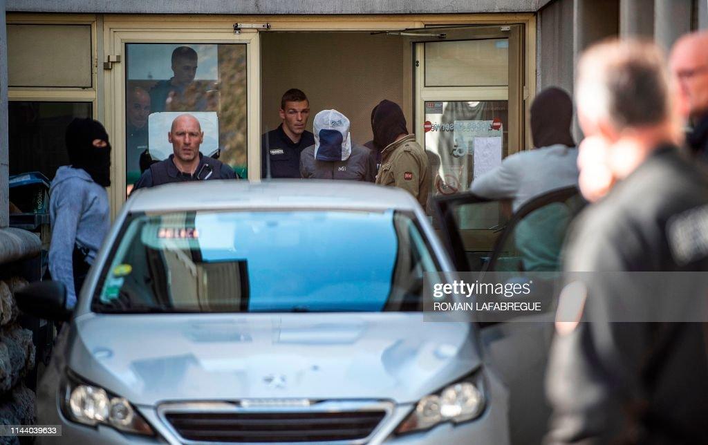FRANCE-SPAIN-ETA-ARREST : News Photo
