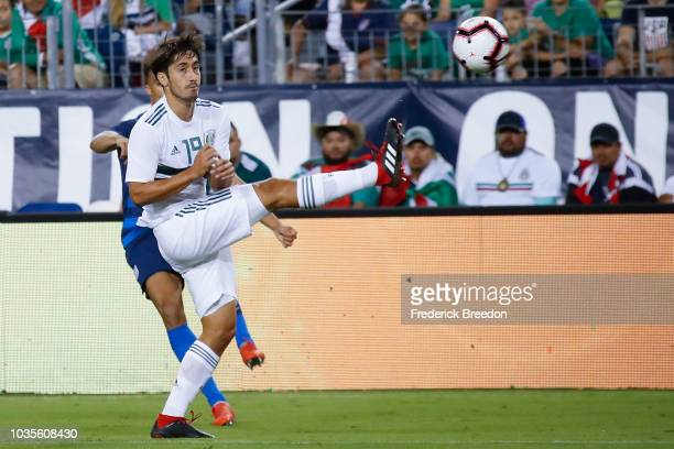 Jos'u008e Abella during the first half of a friendly match at Nissan Stadium on September 11 2018 in Nashville Tennessee