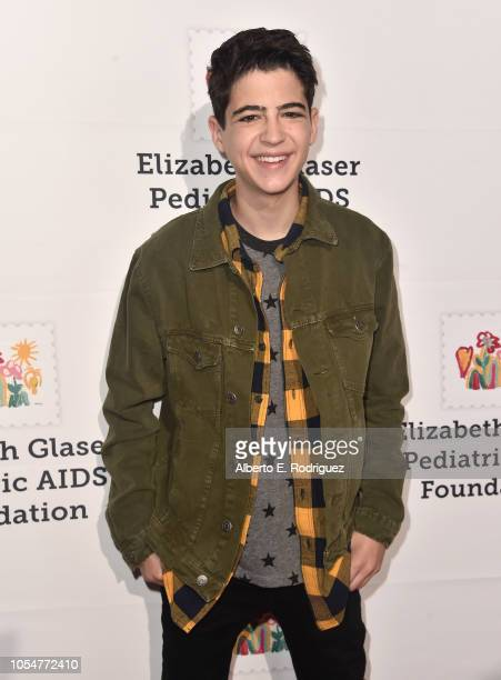 Josua Rush attends the Elizabeth Glaser Pediatric Aids Foundation's 30th Anniversary A Time For Heroes Family Festival at Smashbox Studios on October...