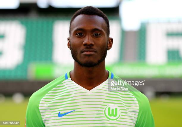 Josuha Guilavogui of VfL Wolfsburg poses during the team presentation at on September 13 2017 in Wolfsburg Germany
