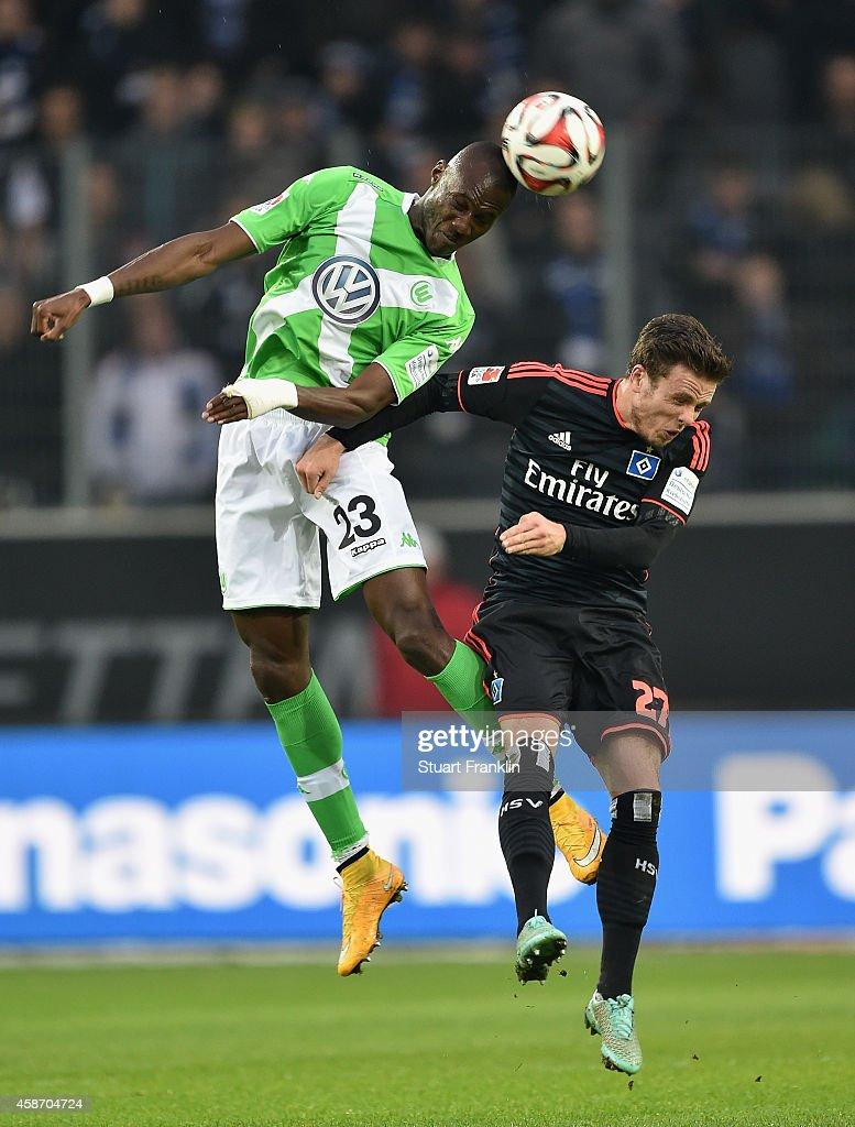 VfL Wolfsburg v Hamburger SV - Bundesliga : Nachrichtenfoto