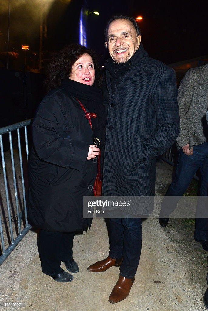 JosyFoichat and Jean Pierre Kalfon attend 'Les Toiles Enchantees' Children Care Association Auction Dinner During The 50th Foire du Trone at Pelouse de Reuilly on March 29, 2013 in Paris, France.