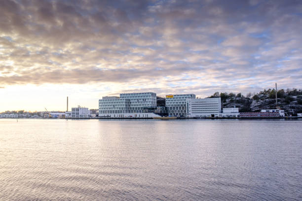 Jotun main office and laboratory in Sandefjord Norway