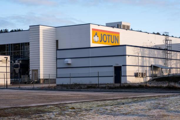 Jotun paint main factory in Sandefjord Norway