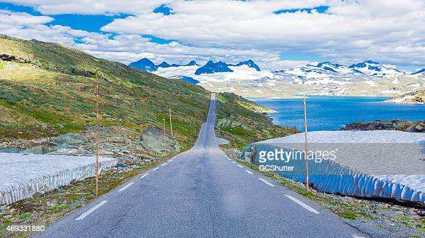 jotunheiman national scenic route - wide stock pictures, royalty-free photos & images