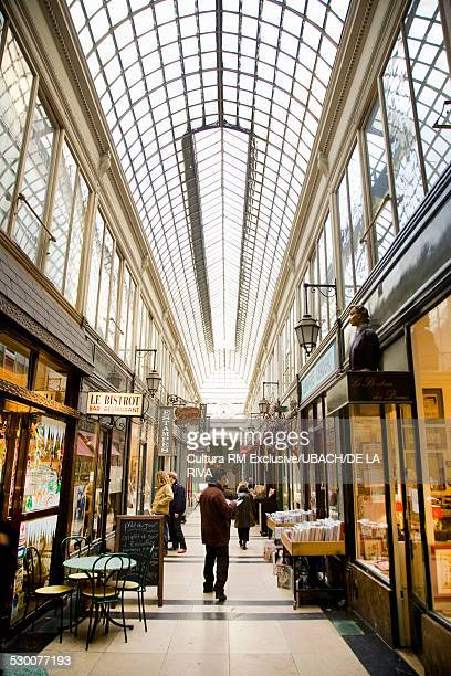 Jouffroy Passage, Paris, France,