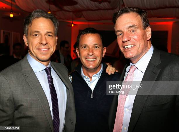 Jounalist Jake Tapper Jay Sures Managing Director United Talent Agency and Sen Mark Warner attend the 'United Talent Agency Honors White House...