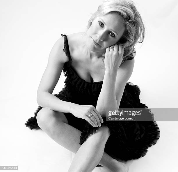 Jounalist Sophie Raworth poses for a portrait session in March 2009 London England