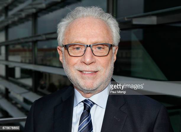 Jounalist Wolf Blitzer attends the 2017 James W Foley Freedom Awards at the Newseum on May 1 2017 in Washington DC The James W Foley Legacy...