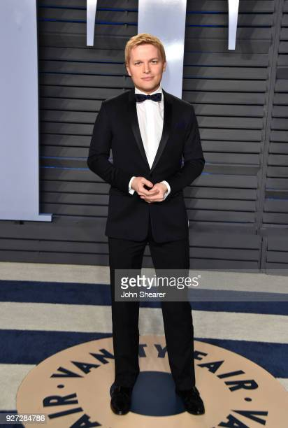 Jounralist Ronan Farrow attends the 2018 Vanity Fair Oscar Party hosted by Radhika Jones at Wallis Annenberg Center for the Performing Arts on March...