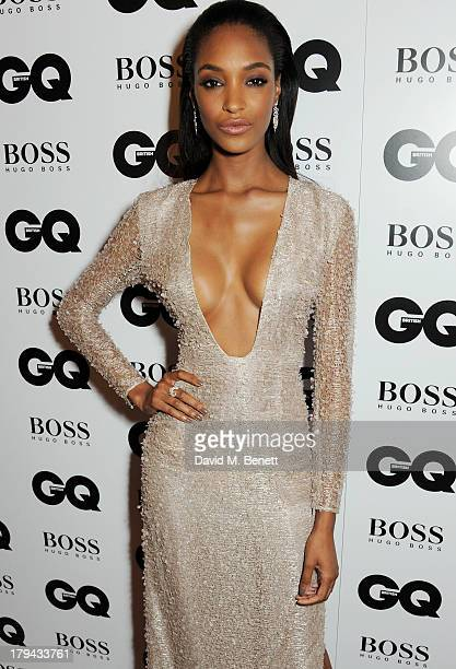 Jourdan Dunn arrives at the GQ Men of the Year awards at The Royal Opera House on September 3 2013 in London England
