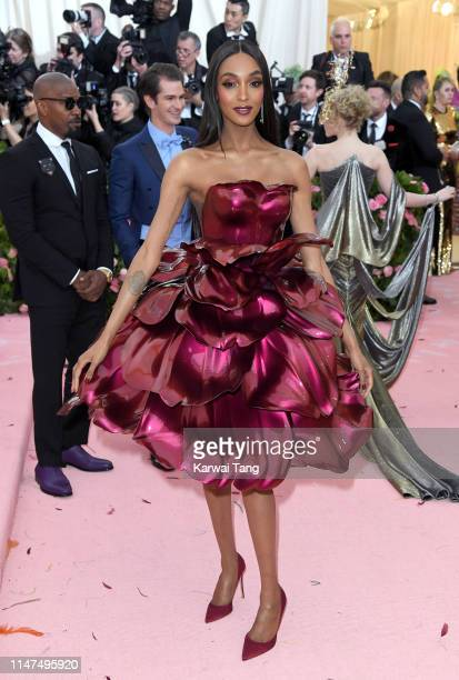 Jourdan Dunn arrives for the 2019 Met Gala celebrating Camp: Notes on Fashion at The Metropolitan Museum of Art on May 06, 2019 in New York City.