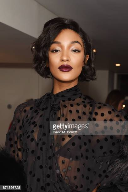 Jourdan Dunn attends a dinner hosted by Jonathan Newhouse and Albert Read for Edward Enninful to celebrate the December issue of British Vogue at the...