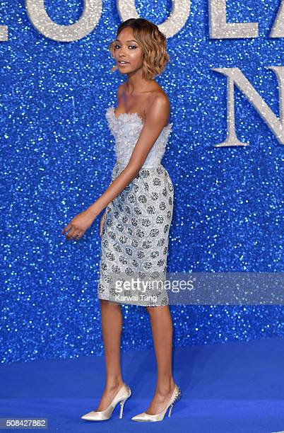 Jourdan Dunn attends a London Fan Screening of the Paramount Pictures film Zoolander No 2 at Empire Leicester Square on February 4 2016 in London...