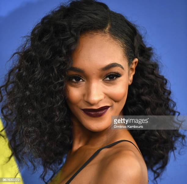 Jourdan Dunn attends the 2018 CFDA Fashion Awards at Brooklyn Museum on June 4 2018 in New York City