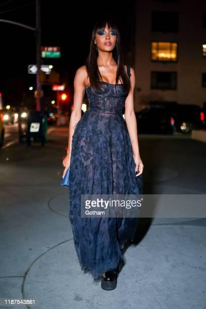 Jourdan Dunn attends the 2019 Guggenheim International Gala on November 13 2019 in New York City