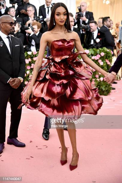 Jourdan Dunn attends The 2019 Met Gala Celebrating Camp: Notes on Fashion at Metropolitan Museum of Art on May 06, 2019 in New York City.