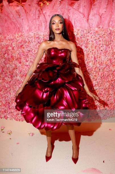 Jourdan Dunn attends The 2019 Met Gala Celebrating Camp Notes on Fashion at Metropolitan Museum of Art on May 06 2019 in New York City