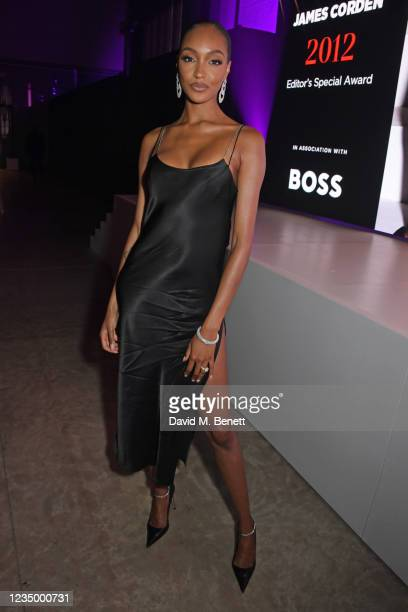 Jourdan Dunn attends the 24th GQ Men of the Year Awards in association with BOSS at Tate Modern on September 1, 2021 in London, England.