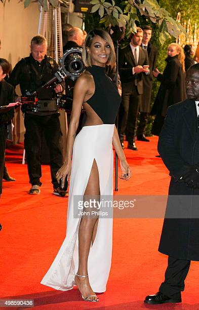 Jourdan Dunn attends the British Fashion Awards 2015 at London Coliseum on November 23 2015 in London England