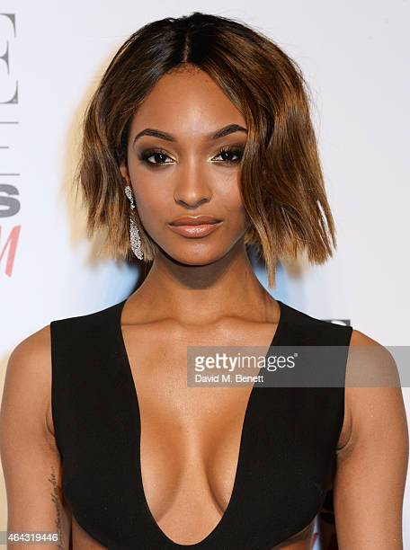 Jourdan Dunn attends the Elle Style Awards 2015 at Sky Garden @ The Walkie Talkie Tower on February 24 2015 in London England