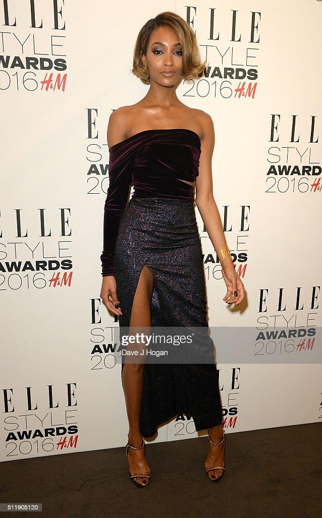 Jourdan Dunn attends The Elle Style Awards 2016 on February 23, 2016 in London, England.