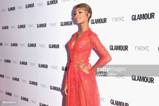 Jourdan Dunn attends the Glamour Women of The Year awards 2017 at Berkeley Square Gardens on June 6 2017 in London England