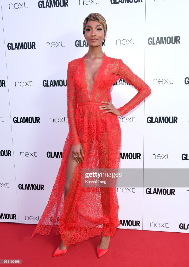 Jourdan Dunn attends the Glamour Women of The Year Awards 2017 at Berkeley Square Gardens on June 6, 2017 in London, England.