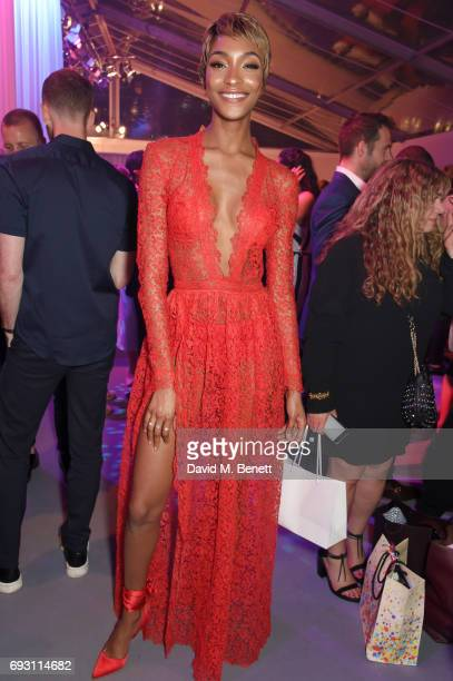 Jourdan Dunn attends the Glamour Women of The Year Awards 2017 in Berkeley Square Gardens on June 6 2017 in London England