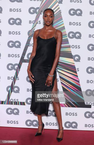 Jourdan Dunn attends the GQ Men Of The Year Awards 2021 at Tate Modern on September 1, 2021 in London, England.