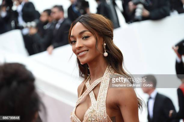 """Jourdan Dunn attends """"The Killing Of A Sacred Deer"""" premiere during the 70th annual Cannes Film Festival at Palais des Festivals on May 22, 2017 in..."""